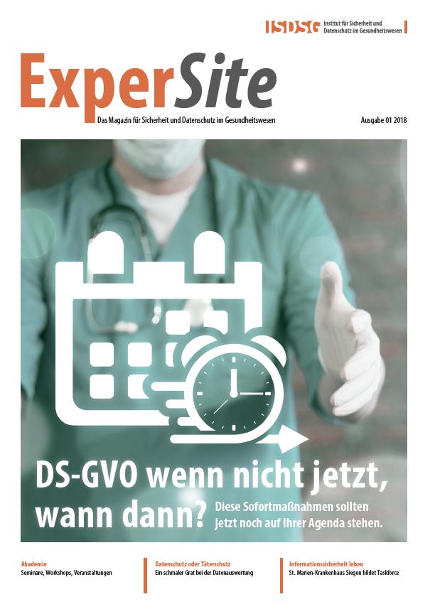 ExperSite Ausgabe 01 2018